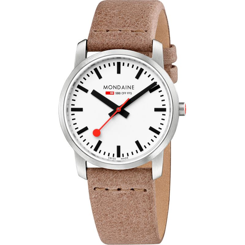 Ladies Mondaine Swiss Railways Simply Elegant Watch A4003035116SBG