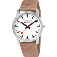 Mens Mondaine Simply Elegant Watch A6383035016SBG
