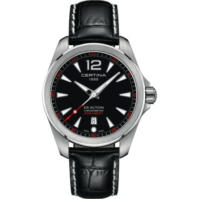 Certina DS Action Herenhorloge Zwart C0328511605701
