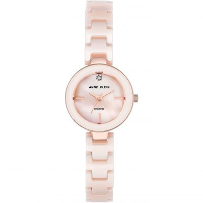 Ladies Anne Klein Ceramic Watch AK/N2660LPRG