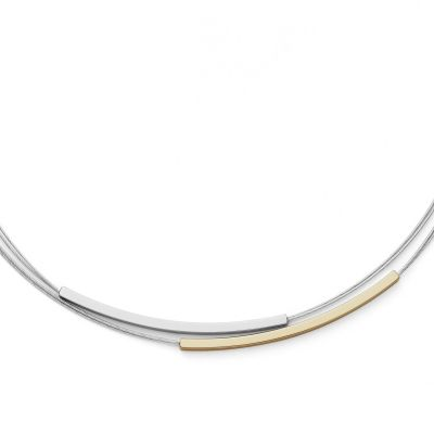 Ladies Skagen Two-tone steel/gold plate Elin Necklace SKJ1032998