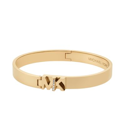 Ladies Michael Kors Gold Plated Iconic Bracelet MKJ6835710