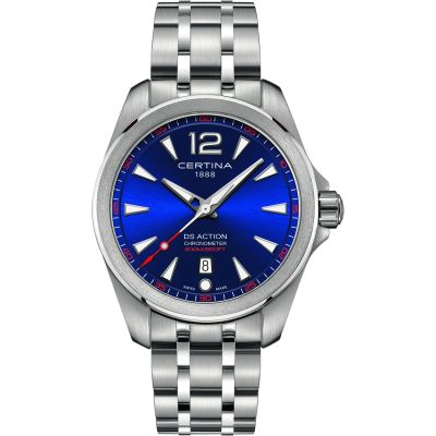 Certina DS Action Herenhorloge Zilver C0328511104700