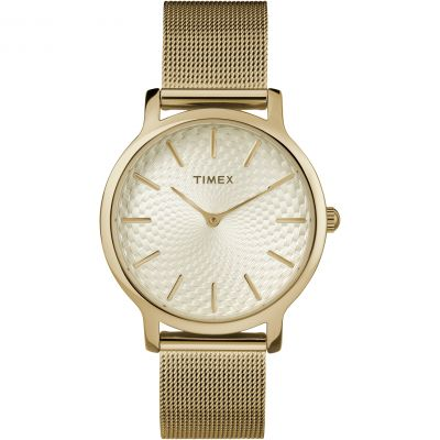 Timex Skyline Damenuhr in Gold TW2R36100