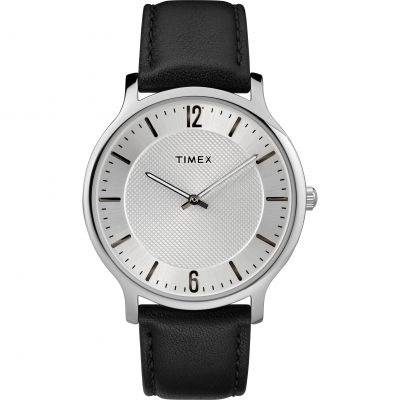 Timex Skyline Slim Herrenuhr in Braun TW2R50000