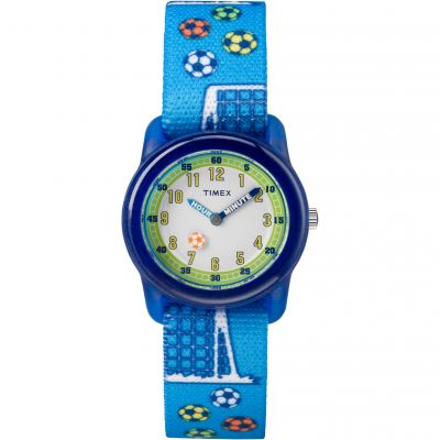 Timex Youth Kids Analog Kinderuhr in Blau TW7C16500