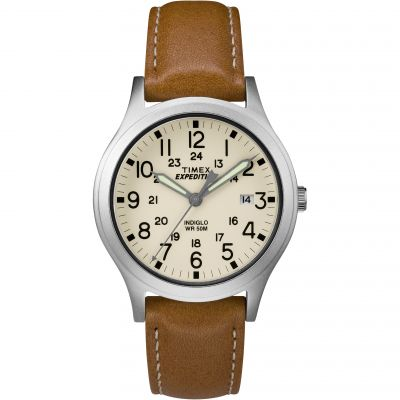 Timex Expedition Expedition Scout Unisexuhr in Braun TW4B11000