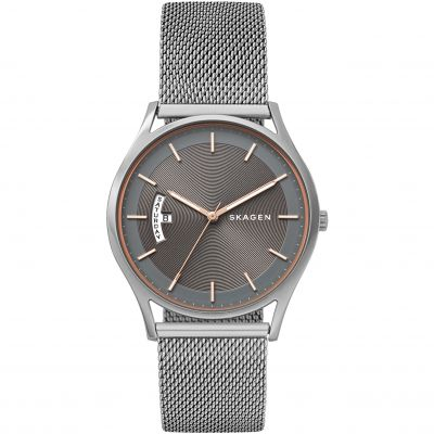 Skagen Holst Herrenuhr in Silber SKW6396