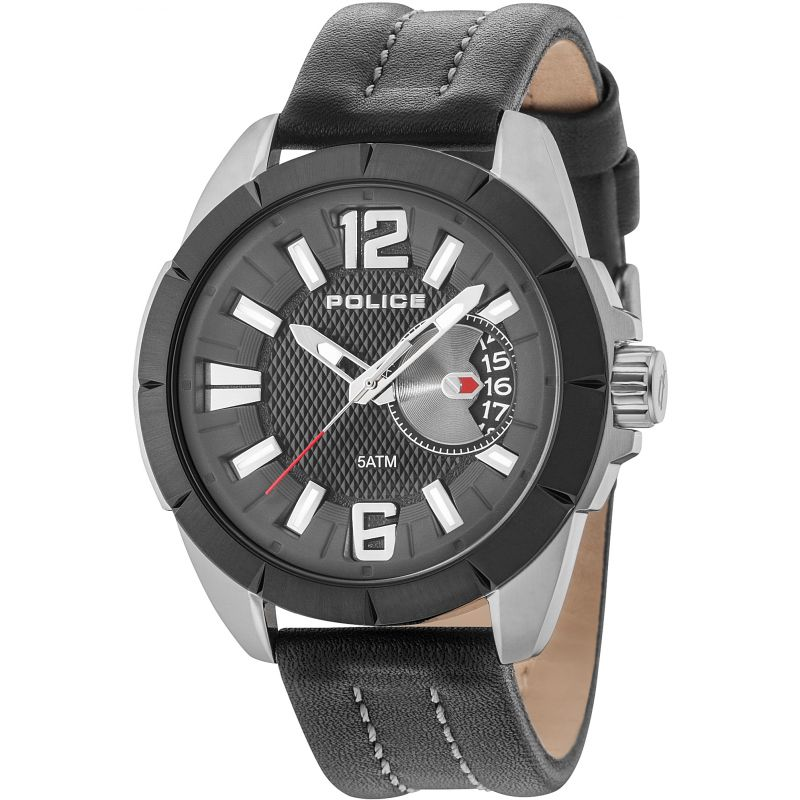 Mens Police Pitcher Watch
