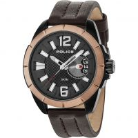 Mens Police Pitcher Watch 15240JSBBN/02