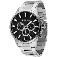 Mens Police Momentum Chronograph Watch 15000JS/02M