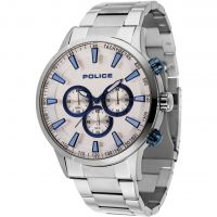 Mens Police Momentum Chronograph Watch 15000JS/04M