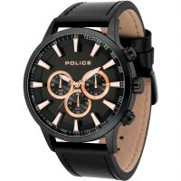 Mens Police Momentum Chronograph Watch 15000JSB/02