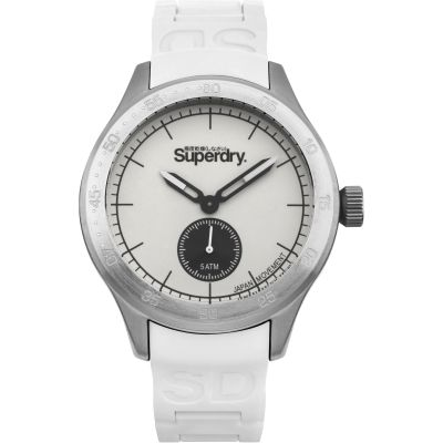 Superdry Herenhorloge Wit SYG212W