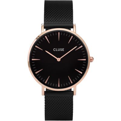 Ladies Cluse La Boheme Rose Gold Watch CL18034