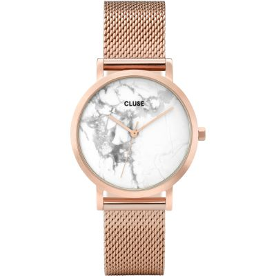 Ladies Cluse La Roche Petite Rose Gold Watch CL40107