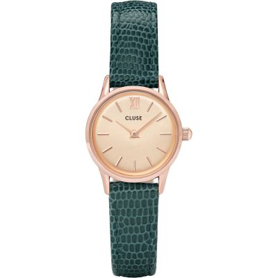 Ladies Cluse Vedette Rose Gold Lizard Watch CL50029