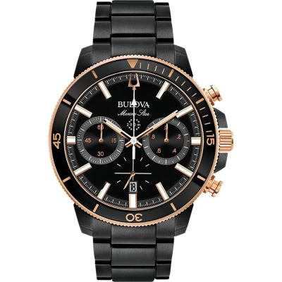 Mens Bulova Marine Star Chronograph Watch 98B302