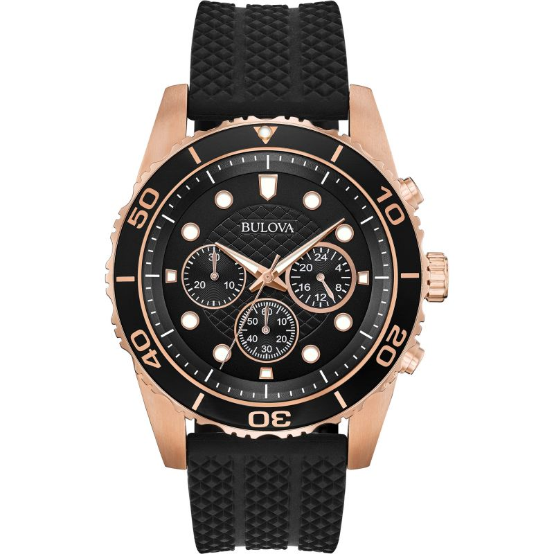 Mens Bulova Sport Chronograph Watch