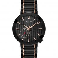 Mens Bulova Modern Grammys Ceramic Watch