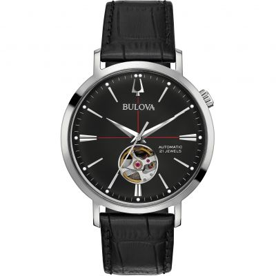 Mens Bulova Automatic Watch 96A201