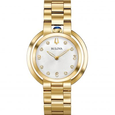 Ladies Bulova Rubaiyat Watch 97P125