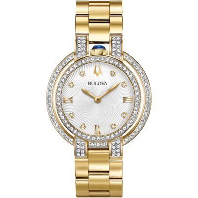 Ladies Bulova Rubaiyat Diamond Watch 98R249
