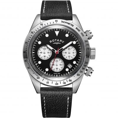 Mens Rotary Exclusive Vintage Chronograph Watch GS00600/04