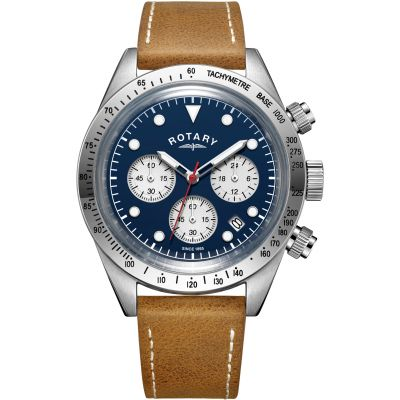 Mens Rotary Exclusive Vintage Chronograph Watch GS00600/05