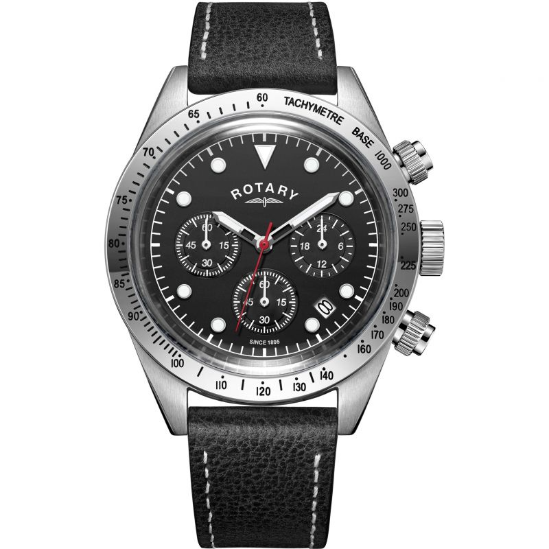 Mens Rotary Exclusive Vintage Chronograph Watch GS00600/20 for £127