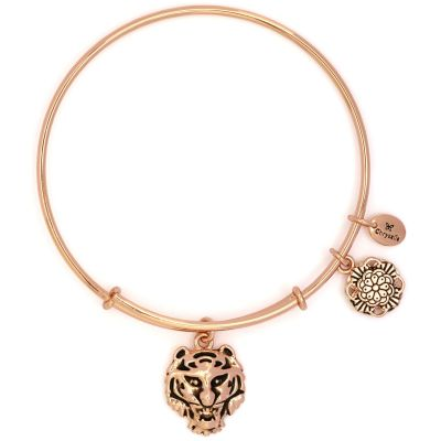 Ladies Chrysalis Rose Gold Plated Bodhi Tiger Expandable Bangle CRBT2206RG