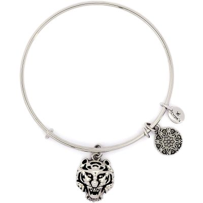 Ladies Chrysalis Silver Plated Bodhi Tiger Expandable Bangle CRBT2206SP