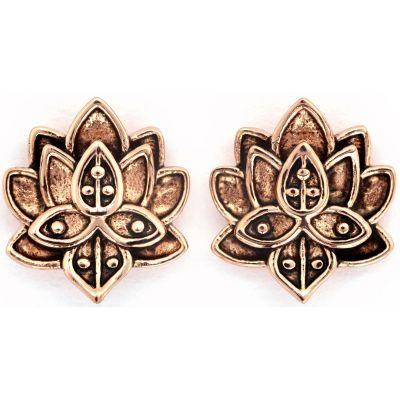 Biżuteria damska Chrysalis Bodhi Lotus Flower Earrings CRET0408AR