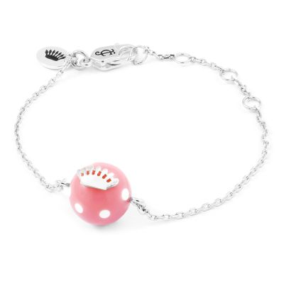 Juicy Couture Polka Dot Resin Wishes Bracelet 39WJW118068-040
