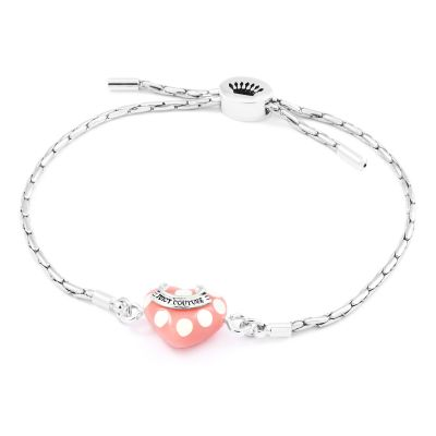 Juicy Couture Resin Heart Bracelet 39WJW118397-040
