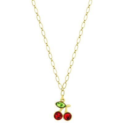Juicy Couture Cherry Gem Expressions Necklace 39WJW117789-712