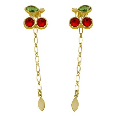 Bijoux Juicy Couture Cherry Gem Statement Boucles d'oreilles 39WJW117801-712