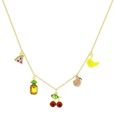 Juicy Couture Mixed Fruit Luxe Wishes Necklace 39WJW117855-712