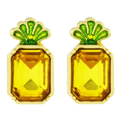 Biżuteria Juicy Couture Jewellery Pineapple Wishes Earrings 39WJW117873-712