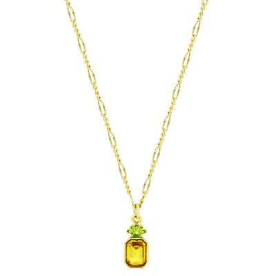 Juicy Couture Pineapple Wishes Necklace 39WJW117875-712