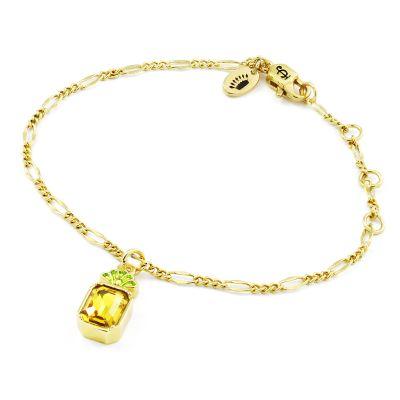 Juicy Couture Pineapple Wishes Bracelet 39WJW117877-712
