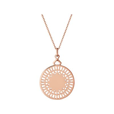 Ladies Links Of London Rose Gold Plated Sterling Silver Timeless Extension Necklace 5020.3477