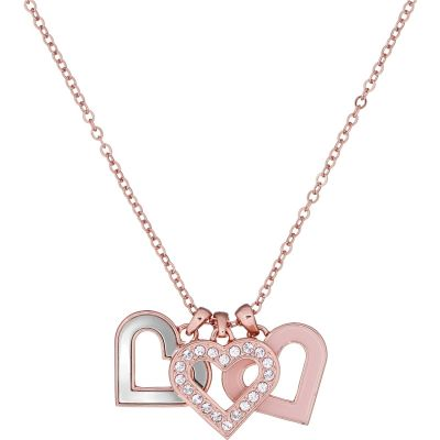Ladies Ted Baker Ezzrela Enchanted Triple Heart Necklace TBJ1785-24-284