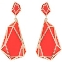 Karen Millen Colour Shard Statement Earrings KMJ1166-30-92