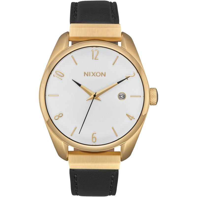 Ladies Nixon The Bullet Leather Luxe Watch A1185-513