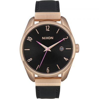 Montre Femme Nixon The Bullet Leather Luxe A1185-1098