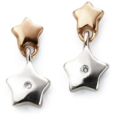 Bijoux Femme D For Diamond Star Boucles d'oreilles E5482