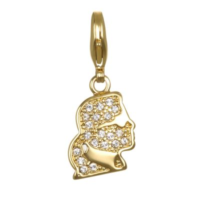 Ladies Karl Lagerfeld Gold Plated Karl Kameo Charm 5378127