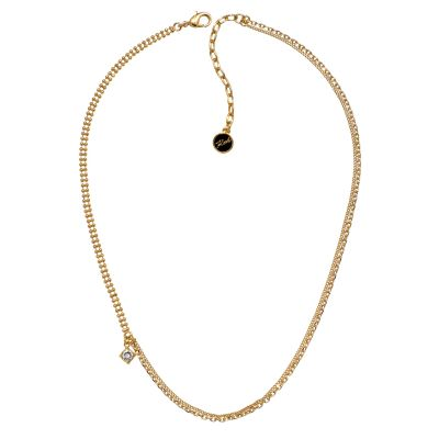 Biżuteria damska Karl Lagerfeld Jewellery Mixed Chain Charm Necklace 5378142