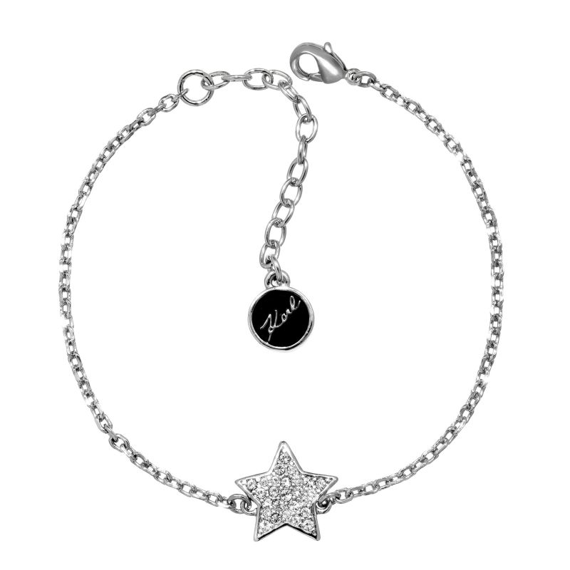 Ladies Karl Lagerfeld Silver Plated Star Bracelet 5378162